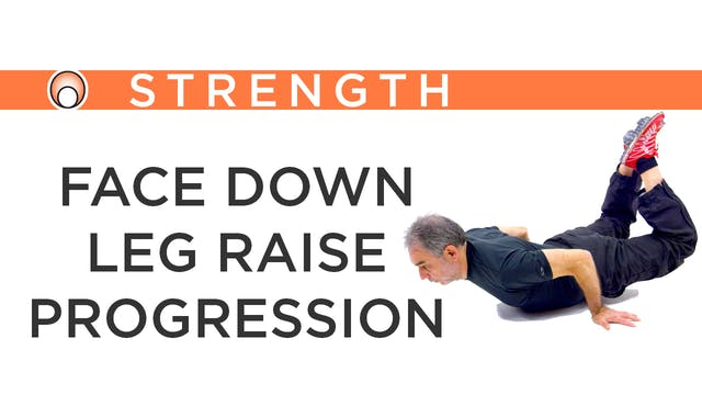 Face Down Leg Raise Progression