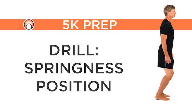 Drill: Springness Position
