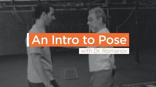 Sessions - An Intro to Pose with Dr R