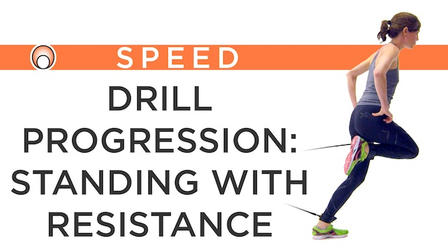 Drill Progression: Standing Resistance Bands