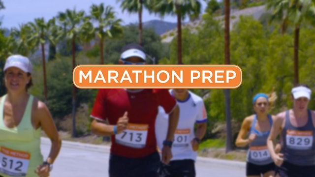 12-Week Marathon Prep Program