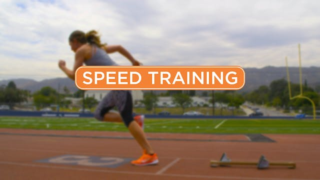 4-Week Speed Training Program