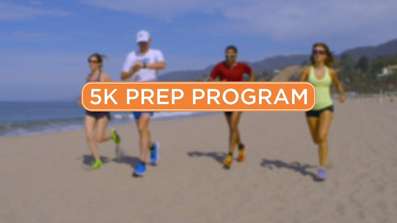 4-Week 5K Prep Program