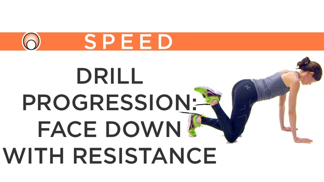 Drill Progression: Face Down Resistance Bands