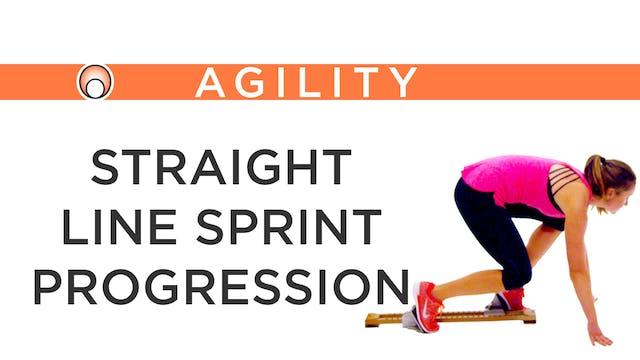 Straight Line Sprint Progression