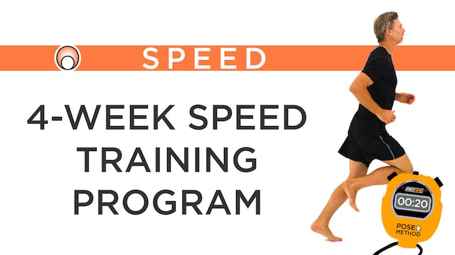 Speed Training Program - Series Overview