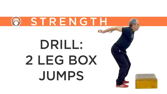 Drill: 2 Leg Box Jumps