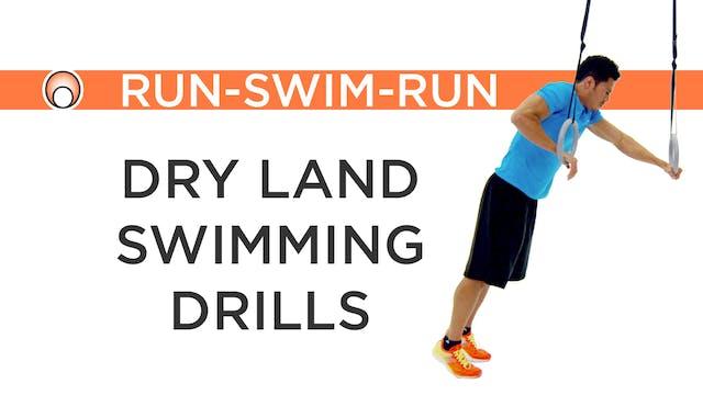 Run-Swim-Run - Dry Land Swim Drills