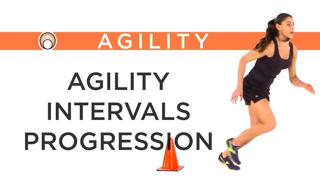 Agility Intervals Progression