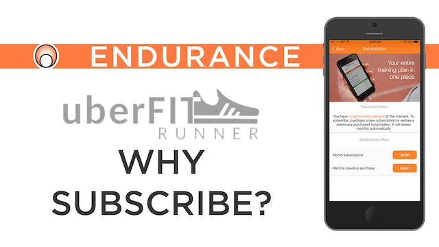 Why Subscribe to uberFIT Runner?