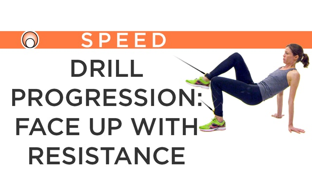 Drill Progression: Face Up Resistance Bands
