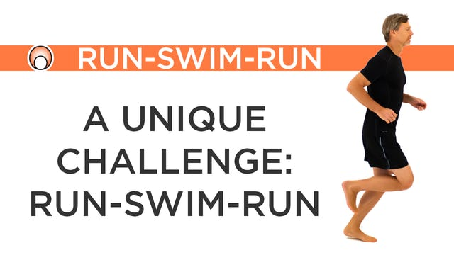 The Challenge of a Run-Swim-Run Event