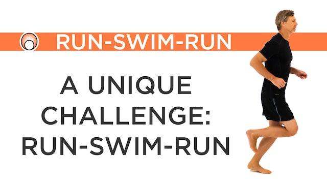 The Challenge of a Run-Swim-Run Event