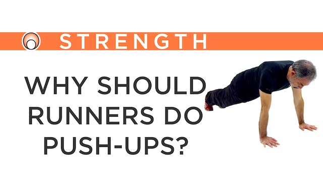 Why shoulder Runners do Push-Ups?