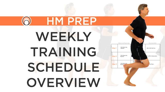 Weekly Training Schedule Overview