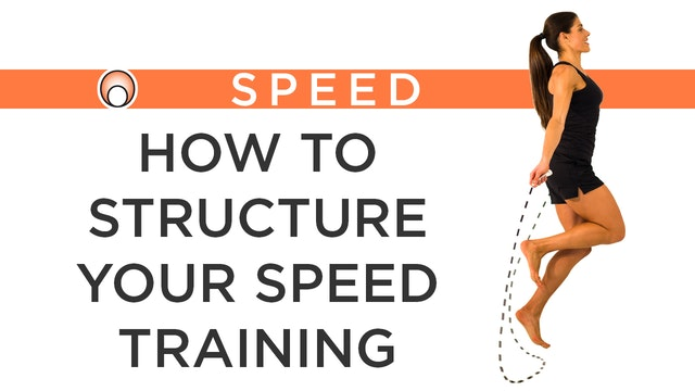 How to Structure your Speed Training