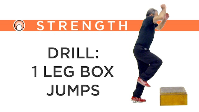 Drill: 1-Leg Box Jumps