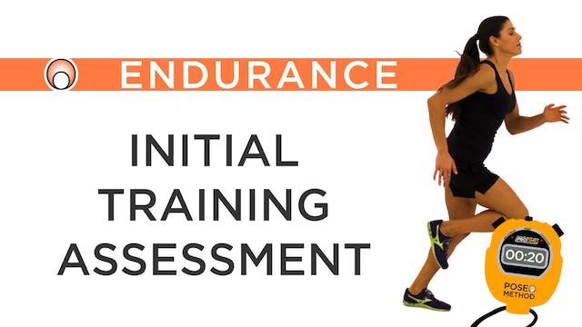 Initial Training Assessment