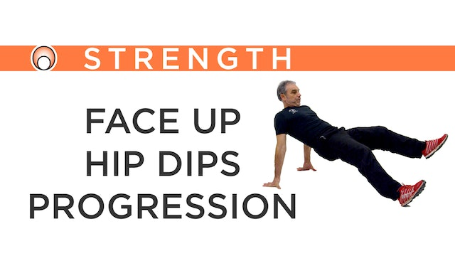 Face Up Hip Dips Progression