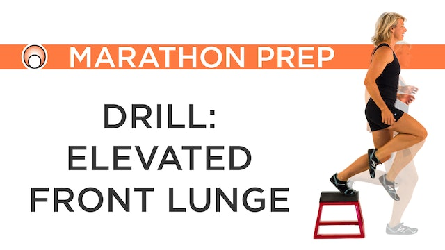 Drill: Elevated Front Lunge