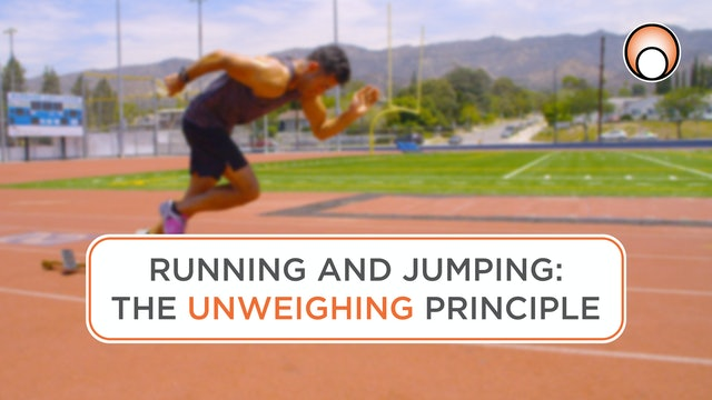 Running and Jumping - The Unweighing Principle