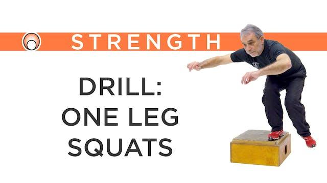 Drill: 1 Leg Squats