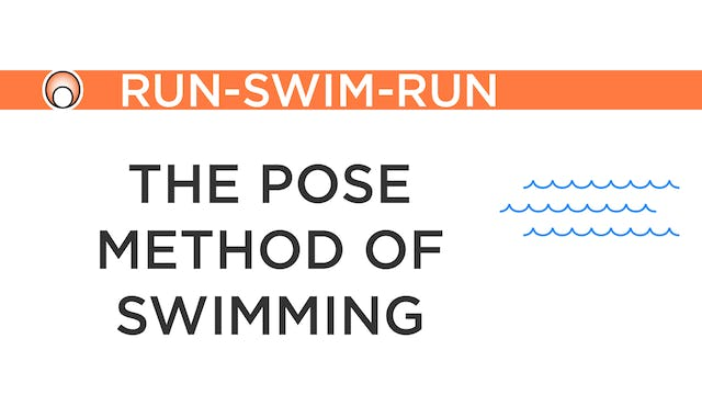 The Pose Method of Swimming