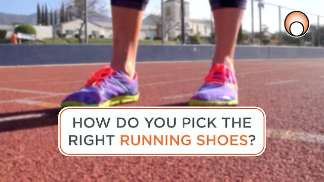 How do you pick the right Running Shoes?