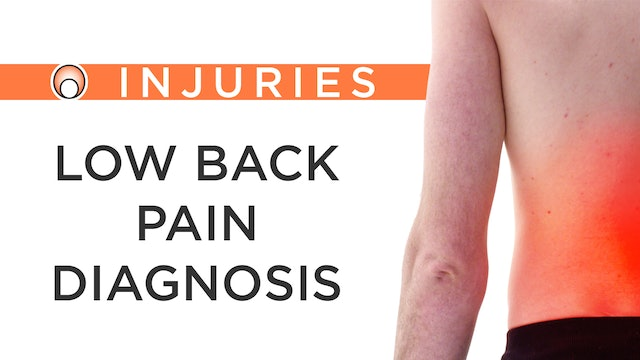 Low Back Pain - Diagnosis