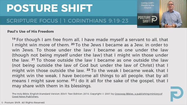 3) Establishing a Biblical Basis