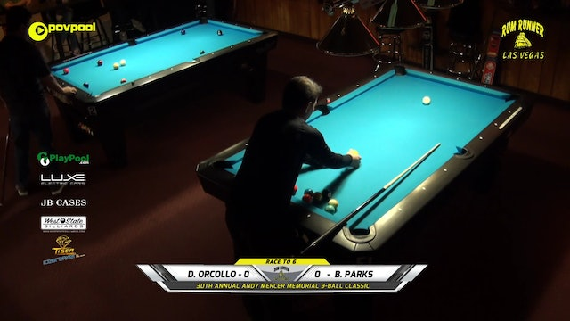 #16 - Andy Mercer 9-Ball - Dennis ORCOLLO vs Brian PARKS / 2020