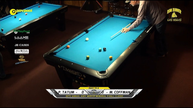 #4 Andy Mercer 9-Ball - Phil TATUM vs Mary COFFMAN / 2020