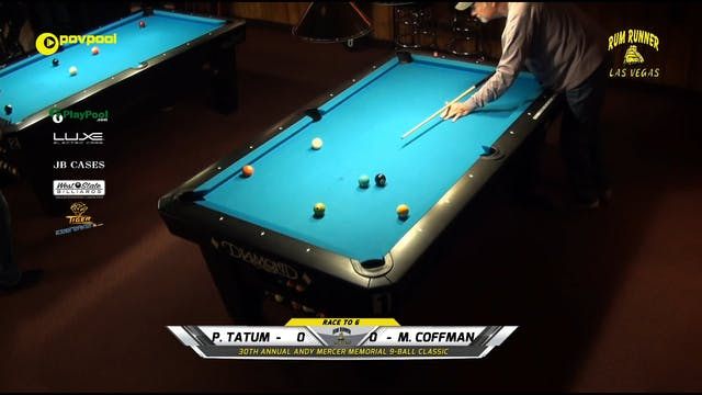 #4 Andy Mercer 9-Ball - Phil TATUM vs...