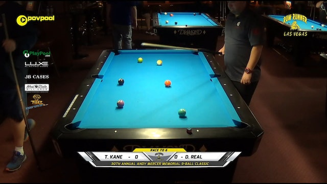 #5 - Andy Mercer 9-Ball - Tres KANE vs Dexter REAL / 2020