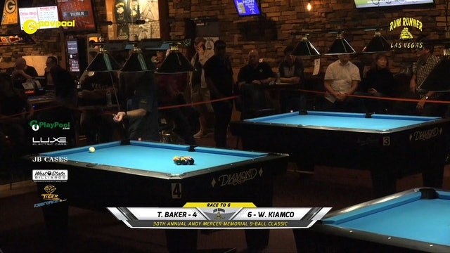 #21 - Andy Mercer 9-Ball - 'FINAL 8' Playoff matches!