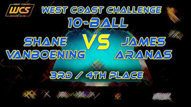 WCS '18 / 10-Ball / 3rd-4th Place / V...