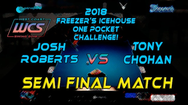 WCS 18 Freezer's SEMI FINAL / Chohan vs Roberts