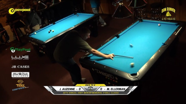 #14 - Andy Mercer 9-Ball - Mitch ELLERMAN vs Joe AUZENNE / 2020