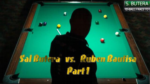 """10-Ball Action"" - Bautista vs Butera - Ep #1"