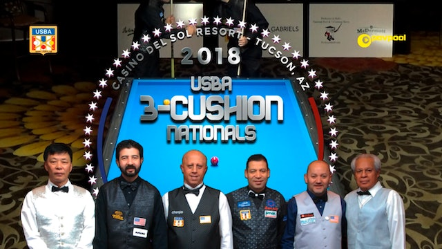 2018 USBA 3-Cushion Nationals - FINAL!