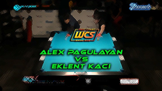 WCS '18 / Eklent Kaci's, 10-Ball, 8-Pack!