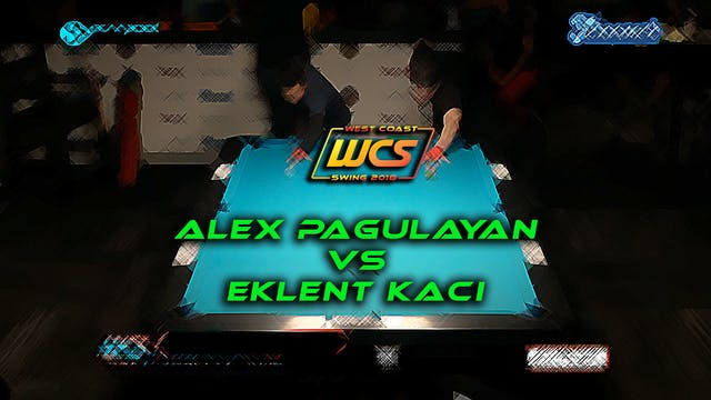 WCS '18 / Eklent Kaci's, 10-Ball, 8-P...