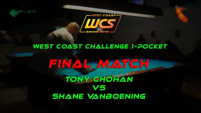 WCS '18 / West Coast Challenge 1-Pocket / FINAL