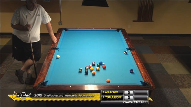 Jerry Matchin vs Jim Tomassoni - One Pocket FINAL