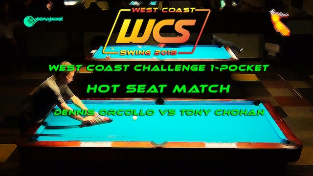 WCS '18 / West Coast Challenge 1-Pocket / Hot Seat