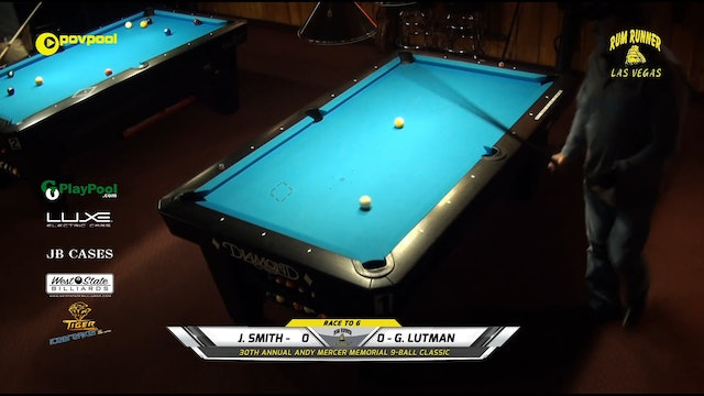 #10 Andy Mercer 9-Ball - Josh SMITH vs Gary LUTMAN / 2020