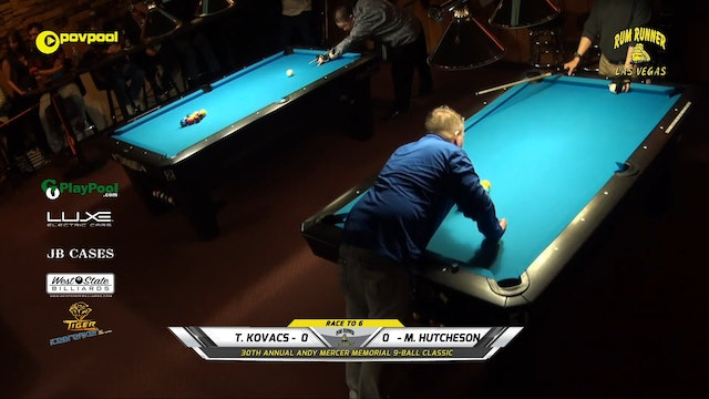 #12 Andy Mercer 9-Ball - Tim KOVACS vs Mike HUTCHESON / 2020