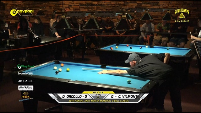 #23 - Andy Mercer 9-Ball - Chad VILMONT vs Dennis ORCOLLO / 2020