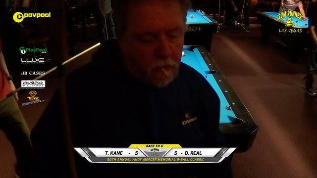 #6 - Andy Mercer 9-Ball - AL LAWRENCE vs Don McCLELLAND / 2020