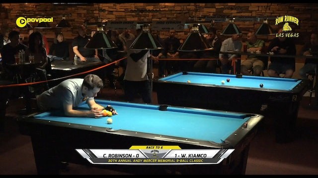 #22 Andy Mercer 9-Ball - Chris ROBINSON vs Warren KIAMCO / 2020